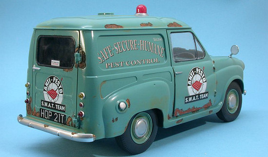 Airix anti pesto van by frank spahr for Model chicken set