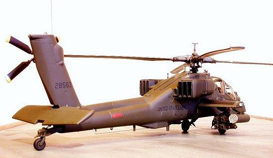Monogram 1 48 Ah 64 Apache