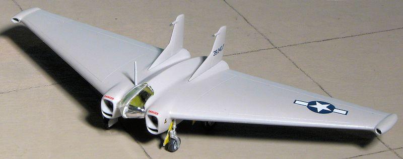 What Is A Glider Kit >> RS Models 1/72 Northrop XP-79B, by Scott Van Aken