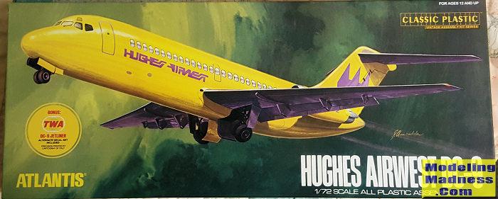 Atlantis 1 72 Hughes Airwest Dc 9 Previewed By Scott Van Aken