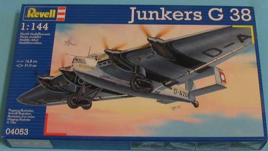 revell ag 1 144 junkers previewed by scott van aken. Black Bedroom Furniture Sets. Home Design Ideas