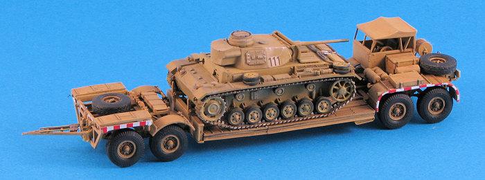Trumpeter 1/72 Sd.Ah. 116 Tank Transporter, By Scott Van Aken