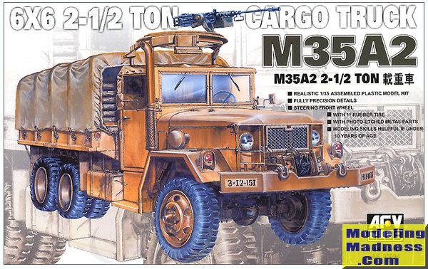 Gmc Cargo Van >> AFV Club 1/35 M35A2 2.5 ton Cargo Truck, previewed by Scott Van Aken