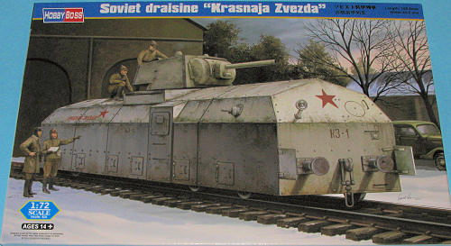 Hobby Boss 1 72 Soviet Draisine Quot Krasnaja Zvezda