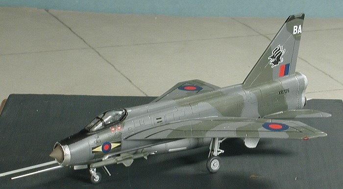 revell ag 1  144 lightning f 6 by scott van aken