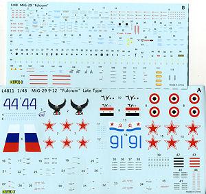 """MIG-29 9-12  """"Fulcrum """" Late Type."""