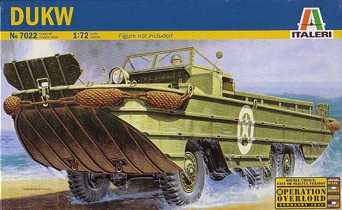 Italeri 1 72 Dukw Previewed By Bill Michaels