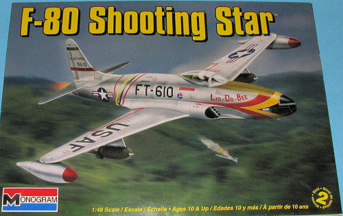 Monogram 1/48 F-80 Shooting Star, previewed by Scott Van Aken