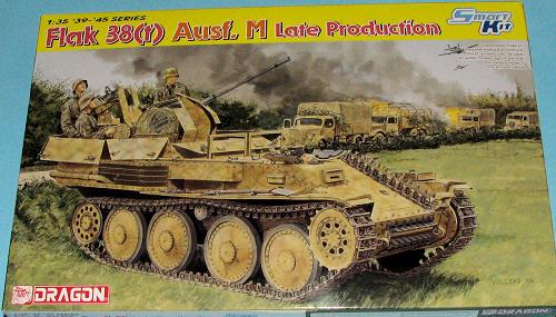 Dragon 1/35 Flak 38(t) Ausf M (Late Production), previewed by Scott Van Aken